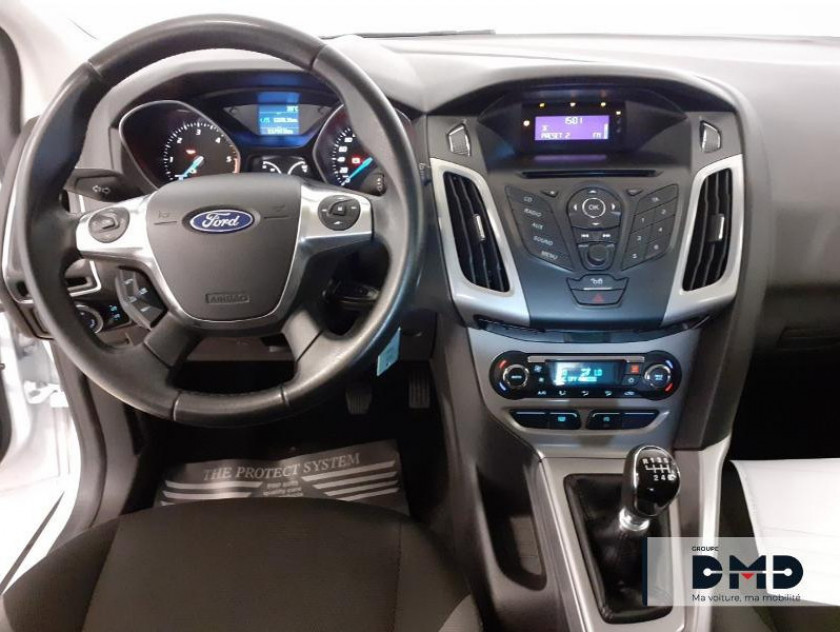 Ford Focus 1.6 Tdci 95ch Fap Stop&start Trend 5p - Visuel #5