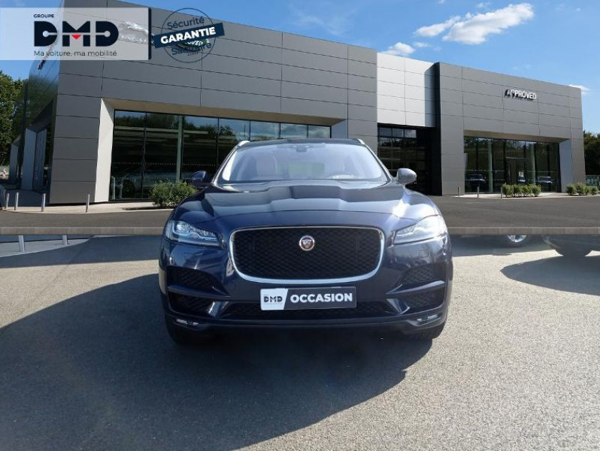 Jaguar F-pace V6 3.0d 300ch Portfolio 4x4 Bva8 - Visuel #4