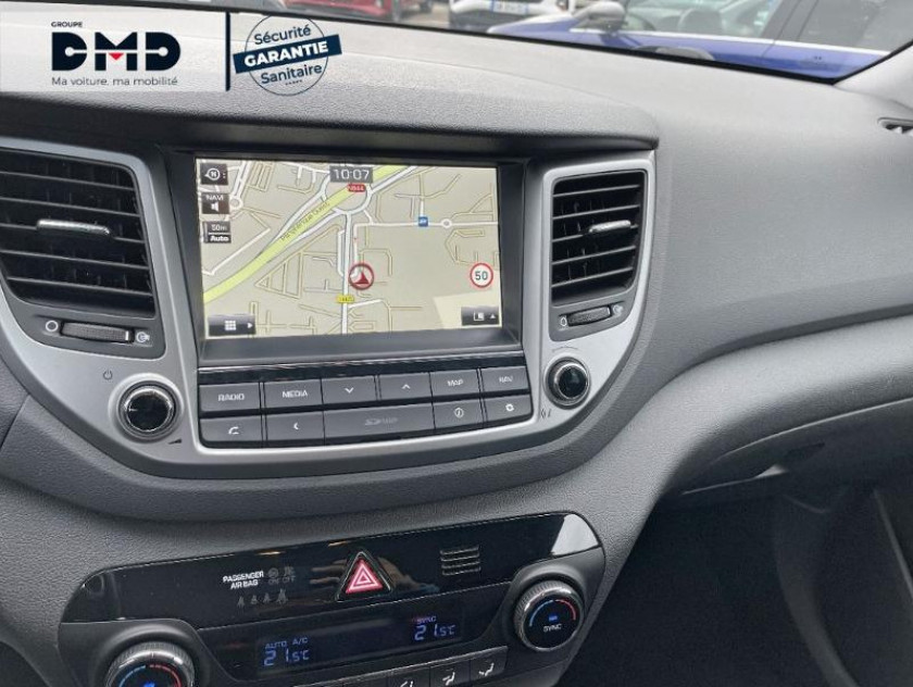 Hyundai Tucson 1.7 Crdi 141ch Business 2017 2wd Dct-7 - Visuel #6