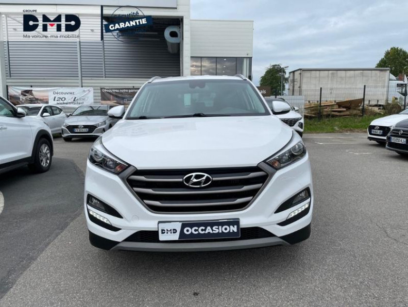 Hyundai Tucson 1.7 Crdi 141ch Business 2017 2wd Dct-7 - Visuel #4