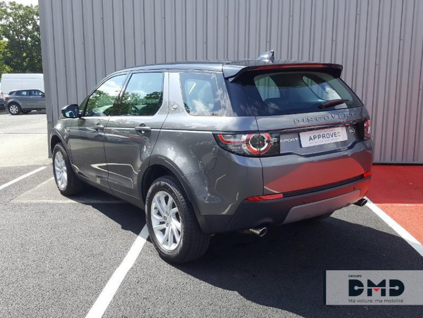 Land-rover Discovery Sport 2.0 Td4 180ch Awd Se Bva Mark Ii - Visuel #3