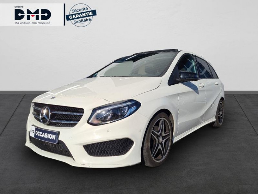 Mercedes-benz Classe B 200 Cdi Fascination 7g-dct - Visuel #1