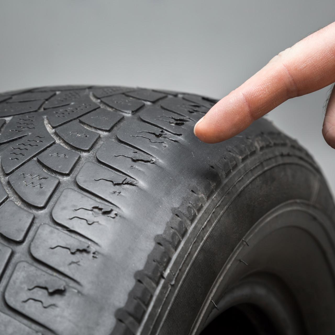 Conseils et Astuces DMD - Identifier un pneu usé